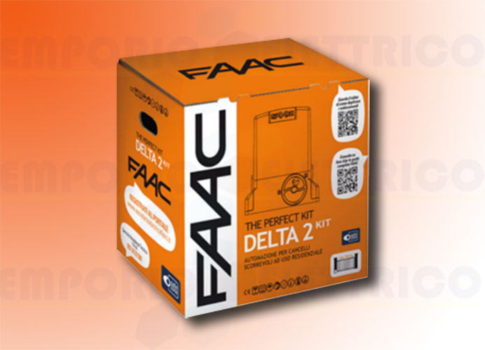 faac kit motorisation 230v delta2 kit perfect 105914