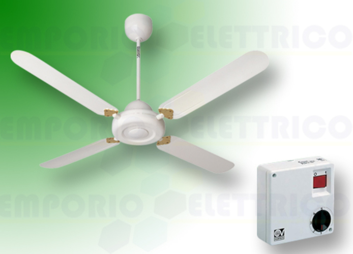 vortice kit ventilateur plafond nordik decor is 140/56