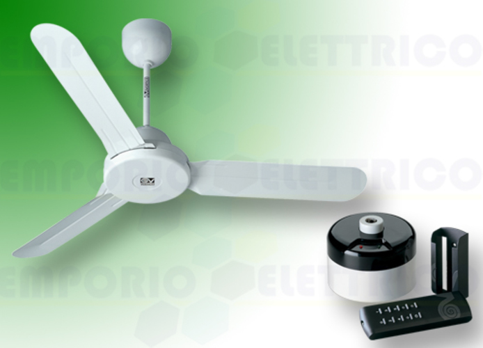 vortice kit ventilateur plafond nordik design is 120/48