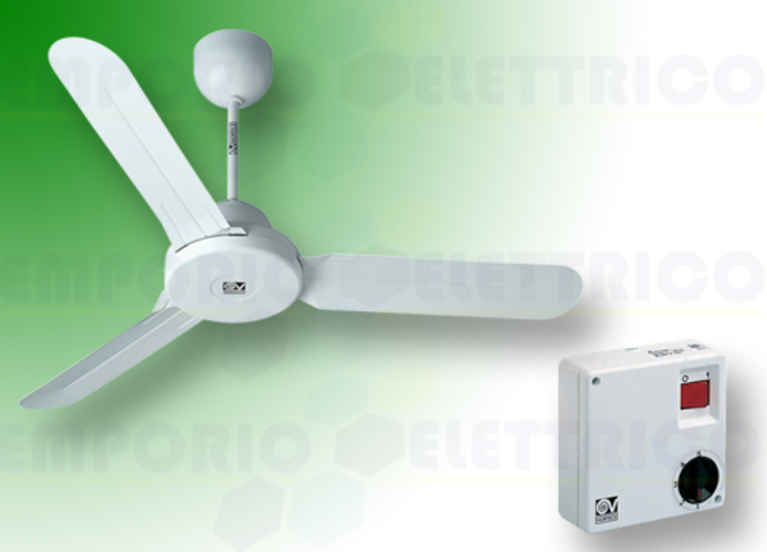 vortice kit ventilateur plafond nordik design is 140/56