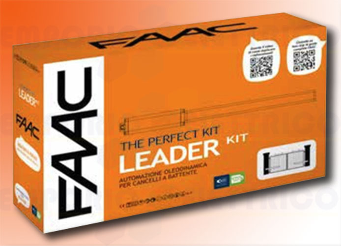 faac kit motorisation 230v leader kit perfect 105911fr