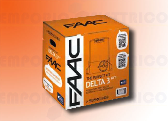 faac kit motorisation 230v delta3 kit perfect 105918fr