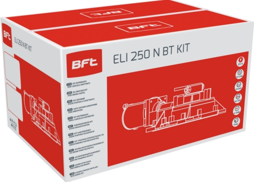 bft kit automatisation eli 250 n bt kit 24v dc r930142 00001